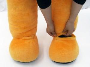 4.靴を履く
